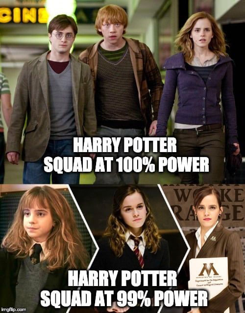 Photo of Hermione would be a better protagonist