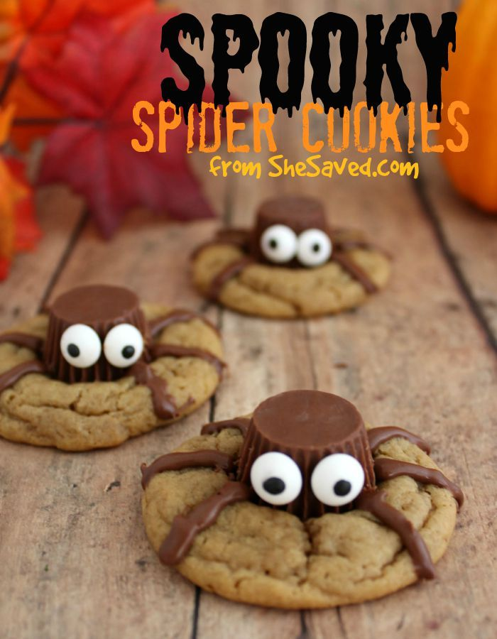 Halloween Treat Spooky Spider Cookies Rezept Halloween