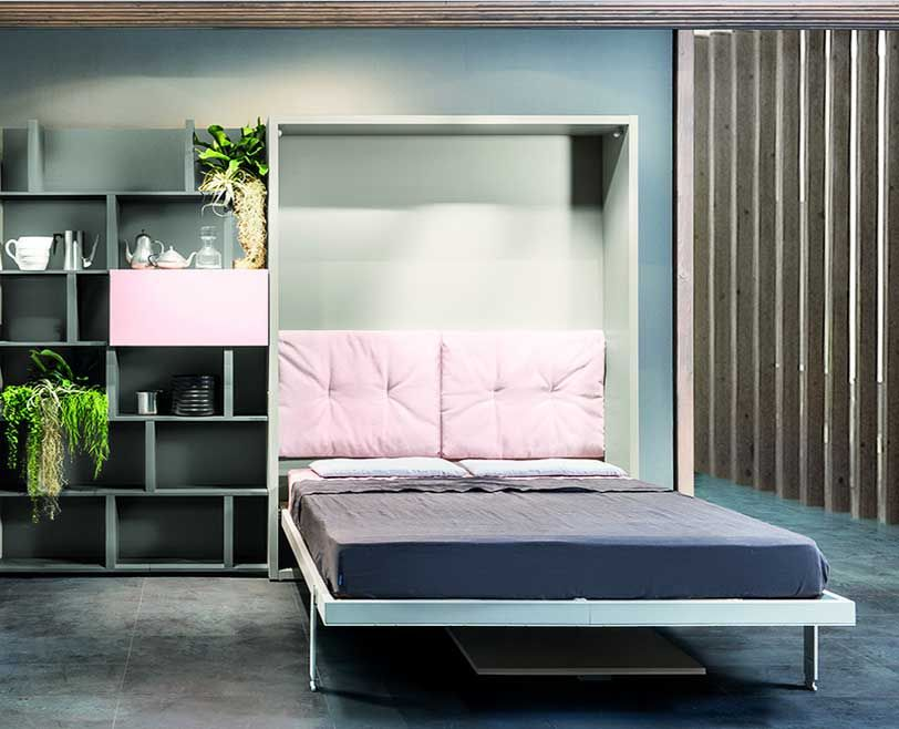 Schrankbett Ikea Vertikal 140 X 200 Dass Komplett Mit Matratze Und