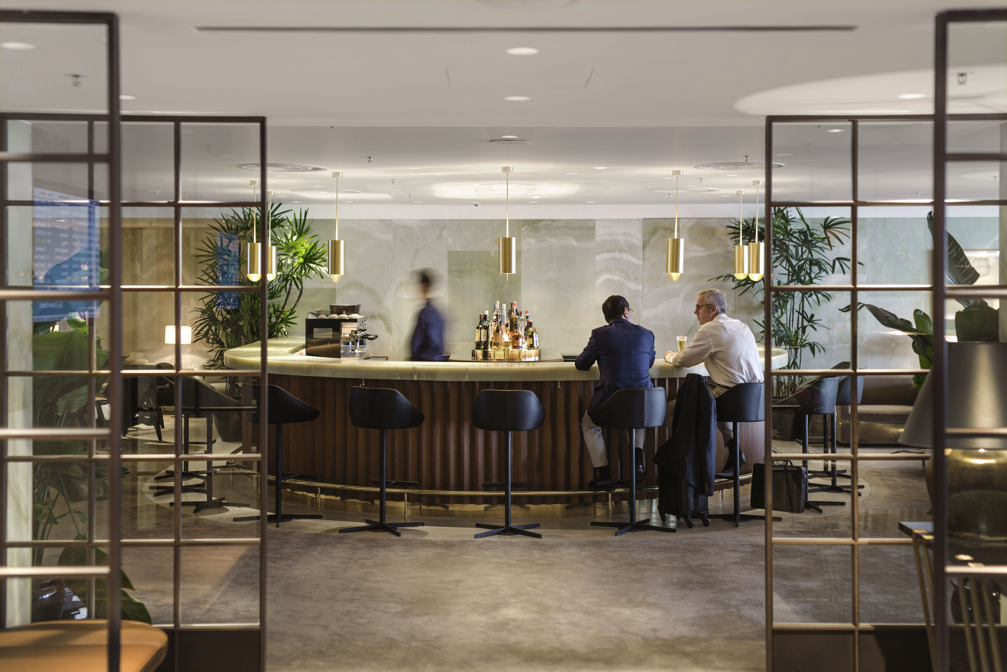 Image result for cathay pacific lounge hong kong | Restaurant Design ...