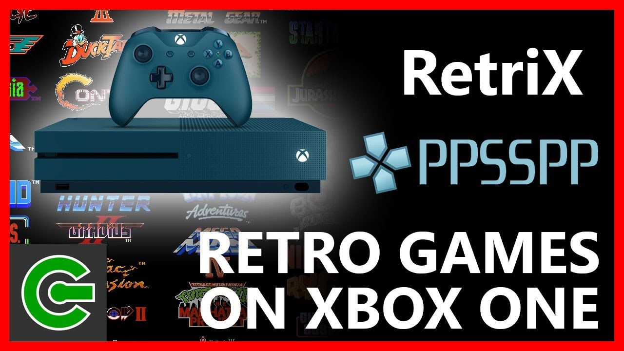 How to run Retrix and PPSSPP on Xbox One | Teknik
