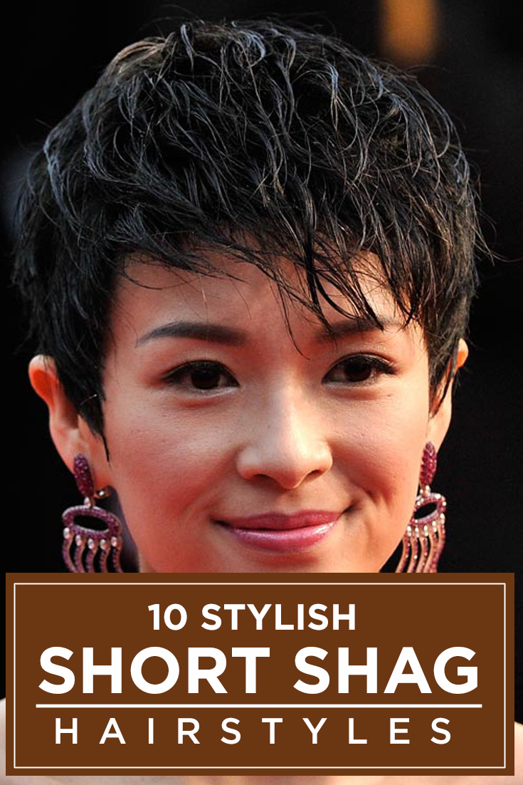 spike hair style images 40 spunky shag hairstyles new hair gives me 7228 | b569bbce2b97589cd7228ce7d1f767c6