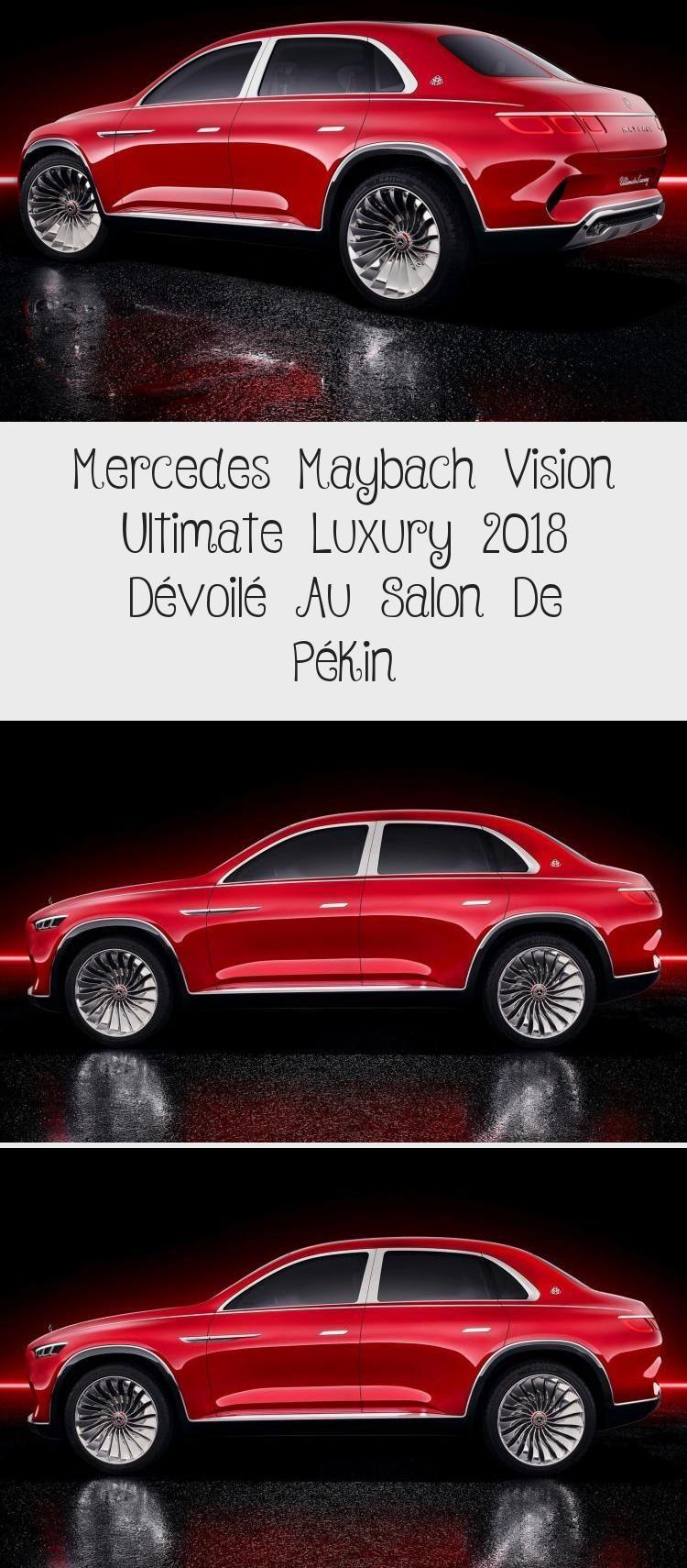 Mercedes Maybach Vision Ultimate Luxury 2018 dévoilé au salon de Pekin #Firstcars #carsAccessories #Blackcars #carsPhotography #Smallcars