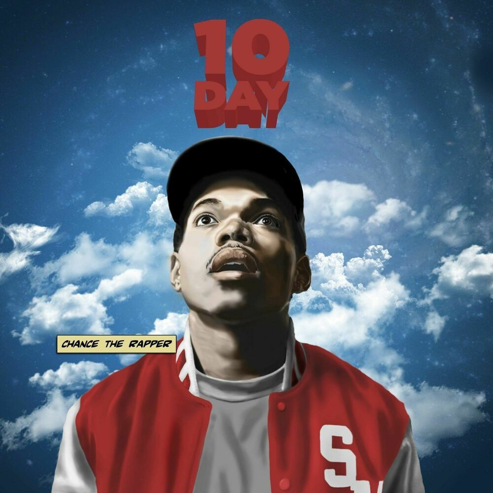 Chance The Rapper Fabric Poster 12x12 24x24 10 Day Rap Album Music Cover B 435 Chance The Rapper Rapper Cool Album Covers