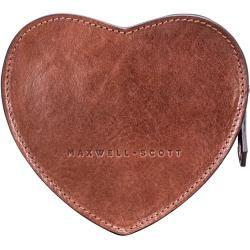 Cognacfarbene Tasche aus italienischem Leder in Braun von Maxwell Scott Bags Maxwell Scott