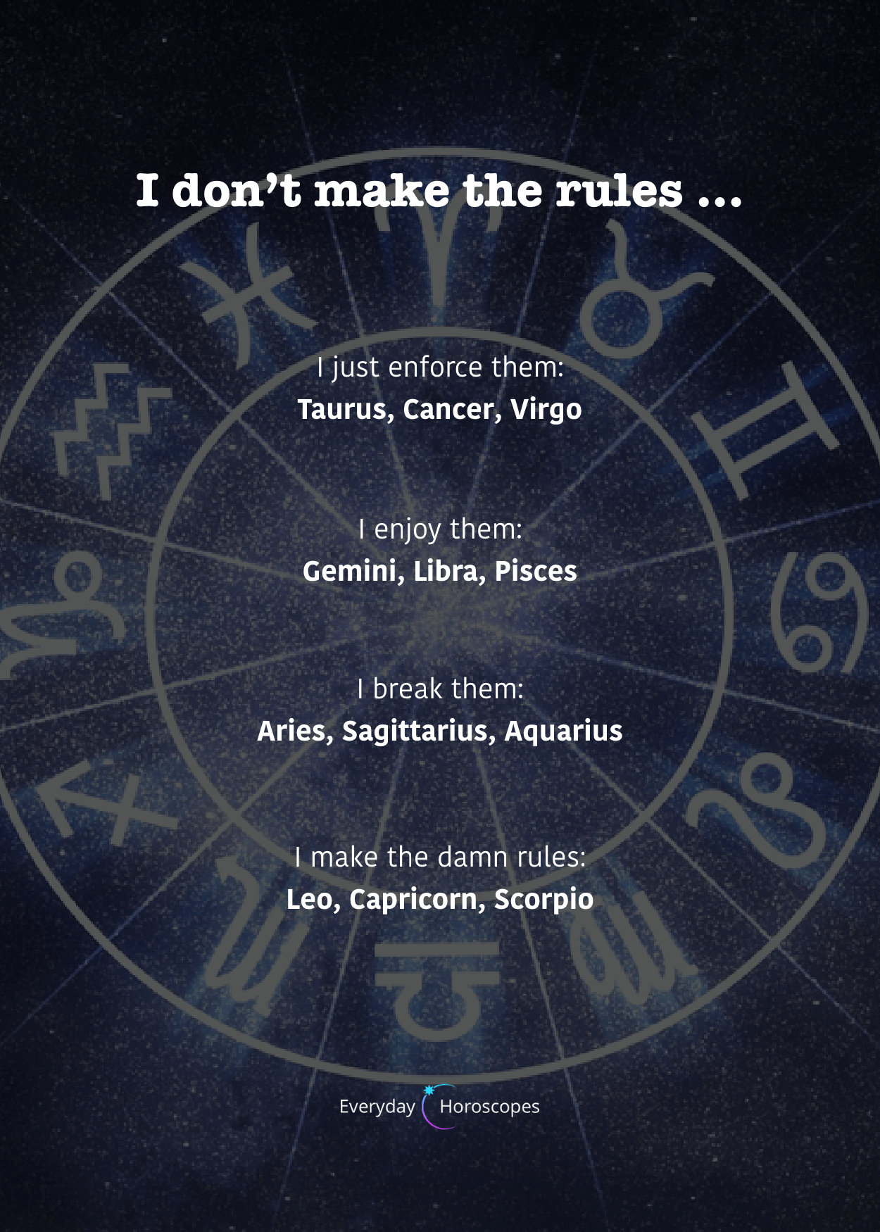 Cheat most likely to zodiac signs The 5