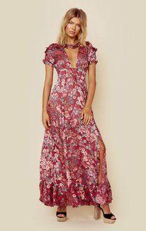 24715658a26b For love and lemons flora maxi dress   Ladies fashion   Dresses ...