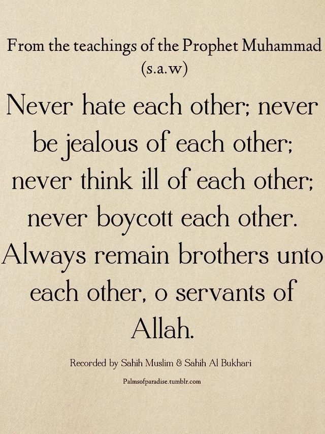 Brotherhood And Unity Taught By Islam What A Wonderfully Unifying