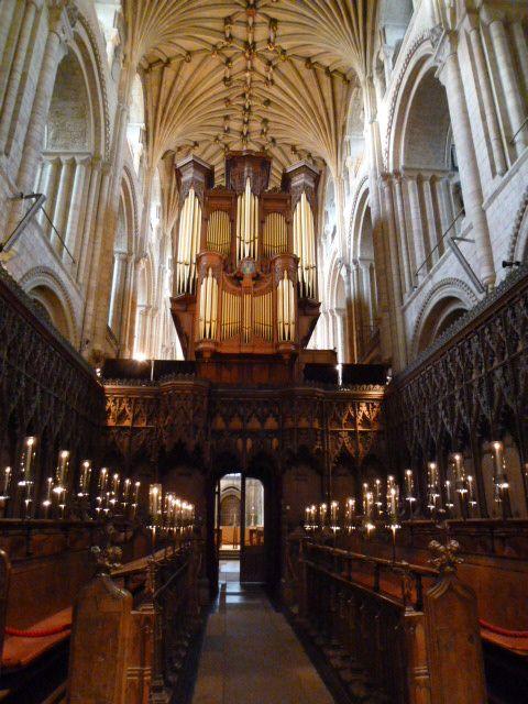 Inside Norwich Cathedral - Norfolk #2 Photo taken in December 2011.