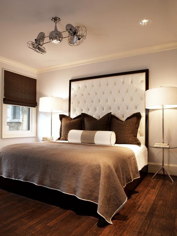 Cool headboard idea | bedrooms | Pinterest - Slaapkamer, Bruine ...
