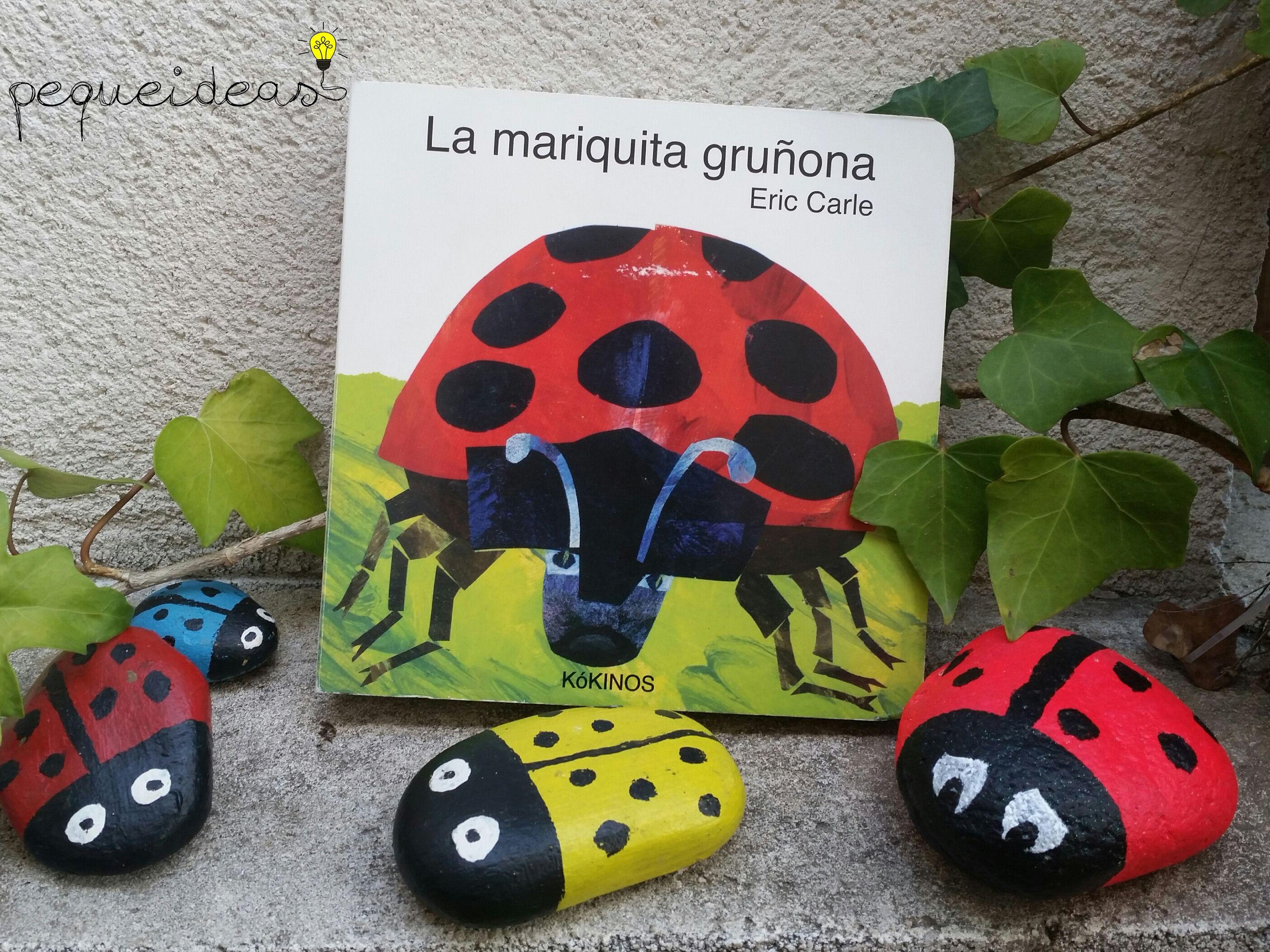 La mariquita gruñona - Piedras pintadas | Actividades con cuentos ...