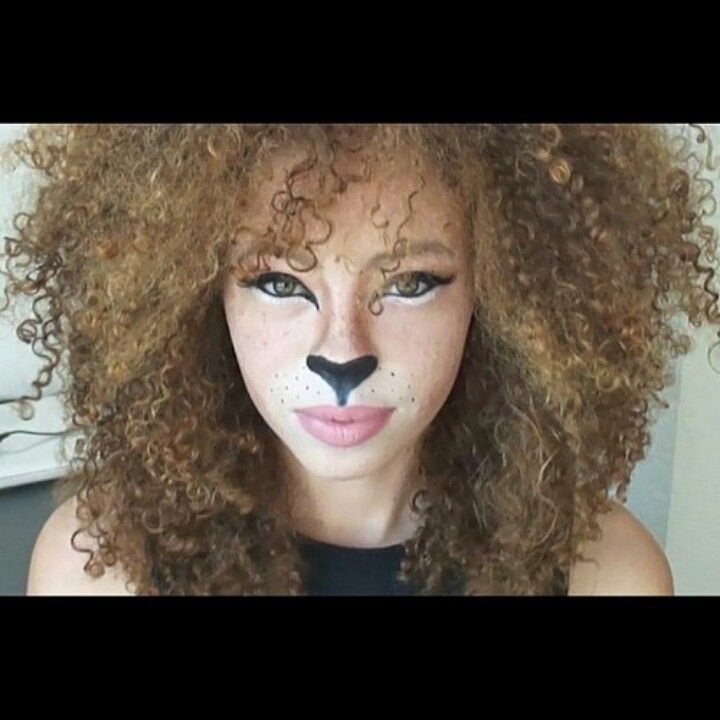 Best 25+ Lion Makeup Ideas On Pinterest | Cat Lion Costume Lion Halloween Costume And Diy Cat ...