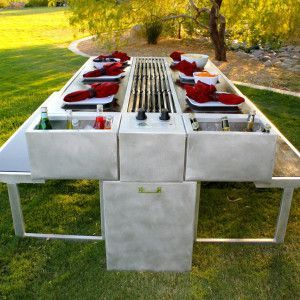 An Outdoor Grill You Can Cook and Eat At - #an #And #at #Can #Cook #Eat #grill #Outdoor #You