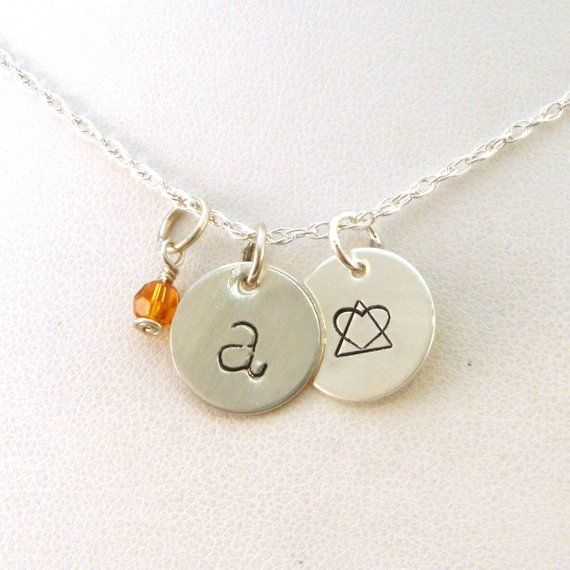 Gotcha Day Gift Letter And Birthstone Necklace With Adoption