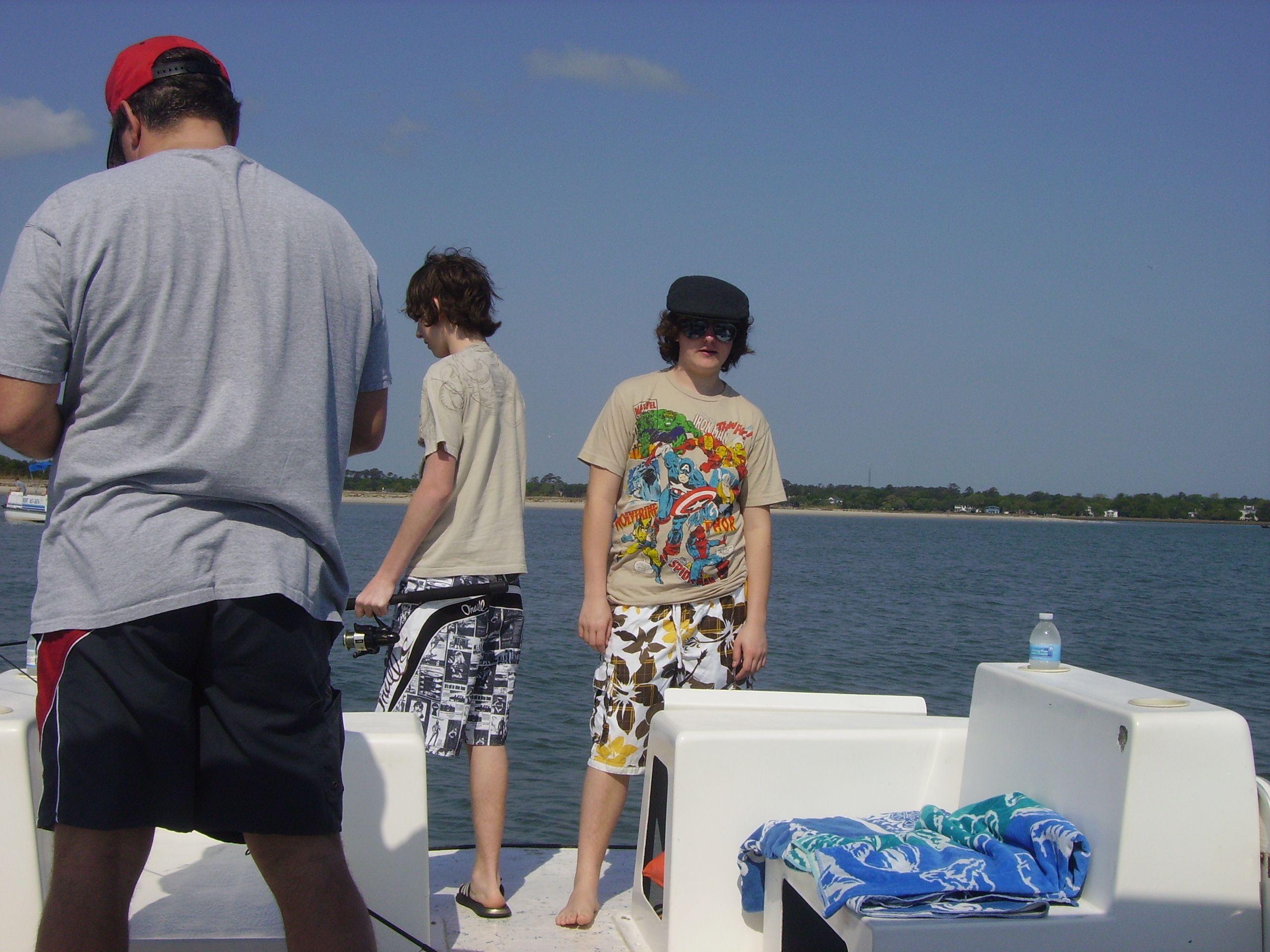Family fun on the ocean