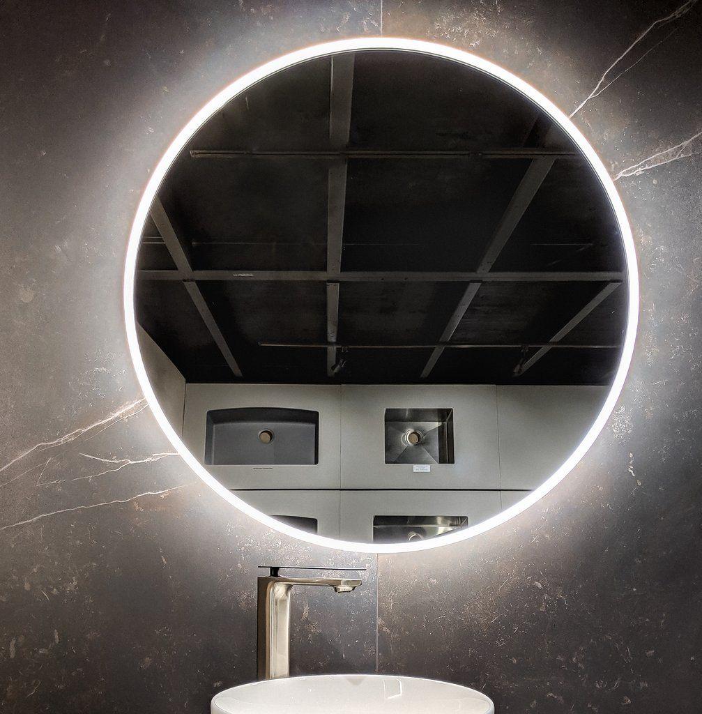 Zeek M-RN32 31.5'' Round LED Bathroom Mirror BackLit | Led ...