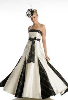 Plaid Bridesmaid Dress UK