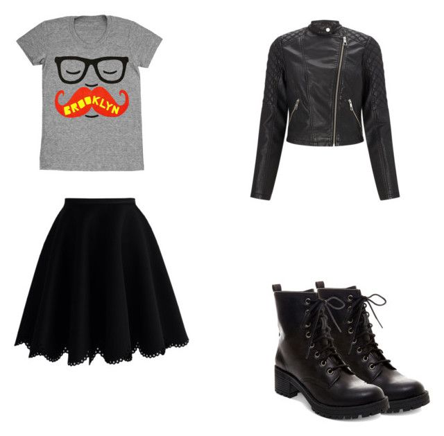 """""""Something"""" by crazycupcake-dccxv on Polyvore featuring Chicwish, Madden Girl and Lipsy"""