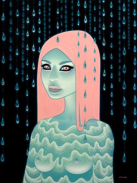 Tara McPherson | ART Paintings Wandering Luminations Wandering Luminations