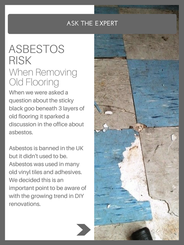 Asbestos Is Banned In The Uk But It Didn T Used To Be Asbestos Was Used In Many Old Vinyl Tiles And Adhesives W Flooring How To Remove This Or That Questions