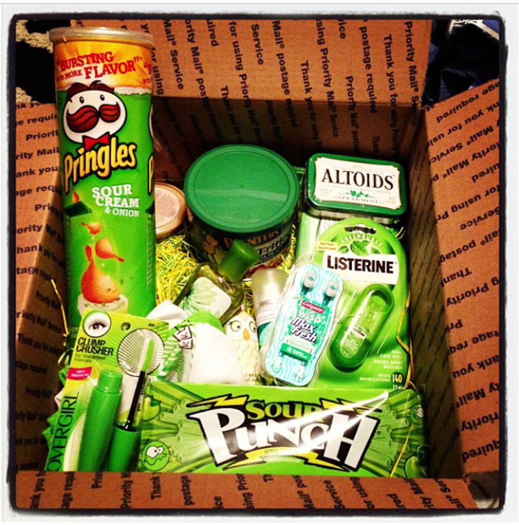 Care Package for the Kid Box of sunshine, Care box