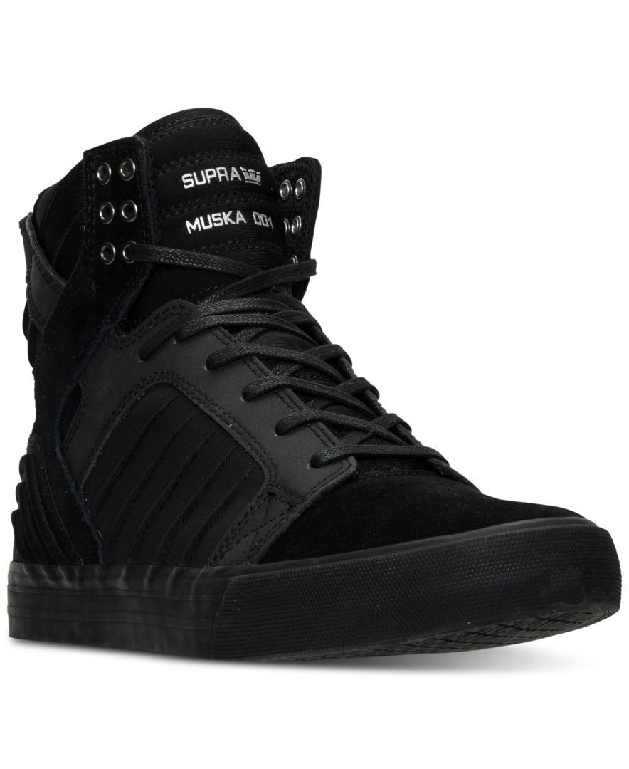 553dcd32e284 Supra Men s Skytop Evo High-Top Casual Sneakers from Finish Line ...