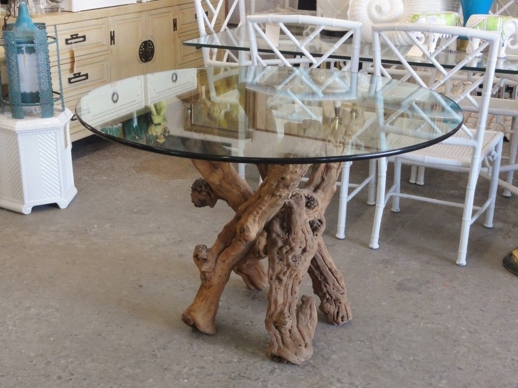 Vintage Grapevine Dining Table