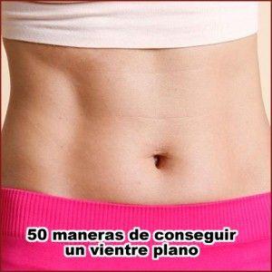 como obtener abdomen plano en un mes