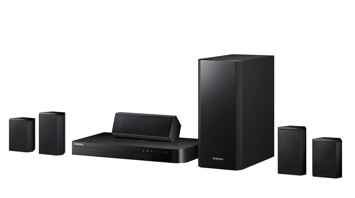 Samsung HT-H5500 5.1 Channel 3D Blu-Ray Home Theater System | TV ...