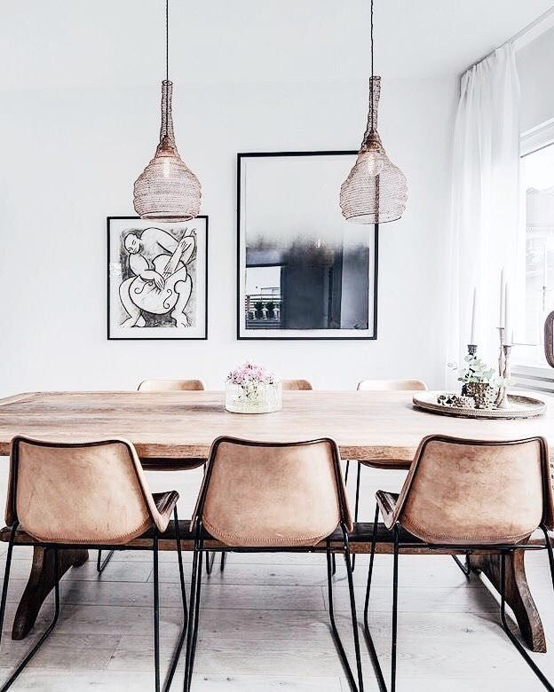 COCOON dining room design ideas bycocoon.com | light tones ...