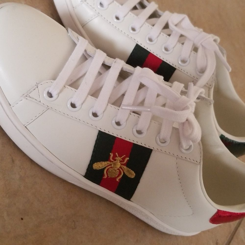 197de381445 Womens Gucci Ace Sneakers Bee - New without box size IT 36   US 6  fashion   clothing  shoes  accessories  womensshoes  athleticshoes (ebay link)