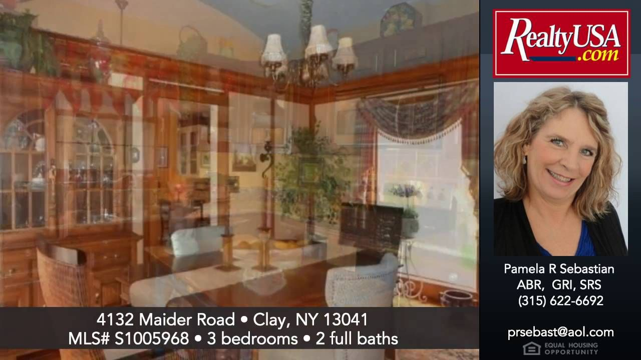 Homes for sale 4132 Maider Road Clay NY 13041  RealtyUSA