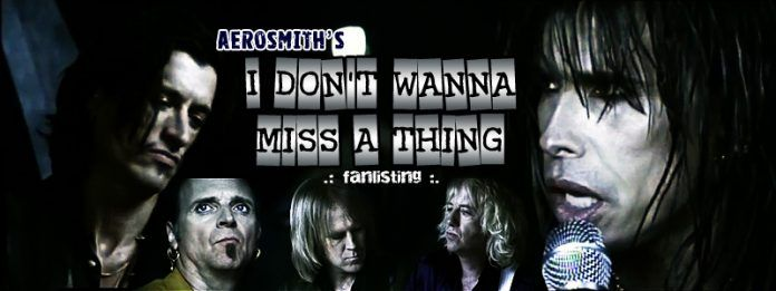 I Dont Wanna Miss A Thing Aerosmith Letras Musicales Videos