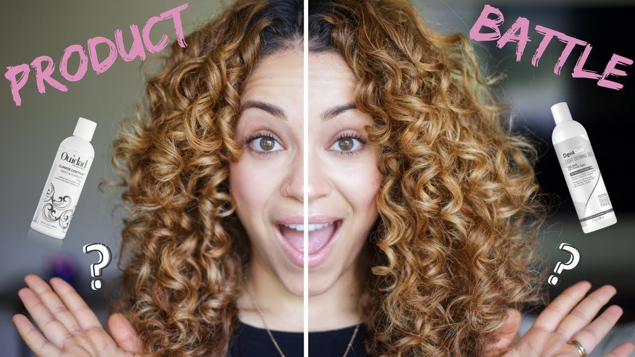 Product Battle Devacurl Vs Ouidad Side By Side Comparison Youtube Deva Curl Curly Hair Tips Curly Hair Styles Naturally