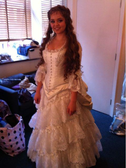 i love it poto christines wedding gown larp costuming