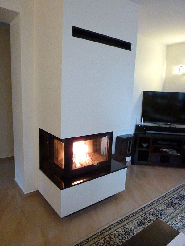 Kominki Nowoczesne Obudowy Kominkowe Narozne Obudowy Proste I Portalowe Lamps Living Room Floor Lamps Living Room Living Room With Fireplace