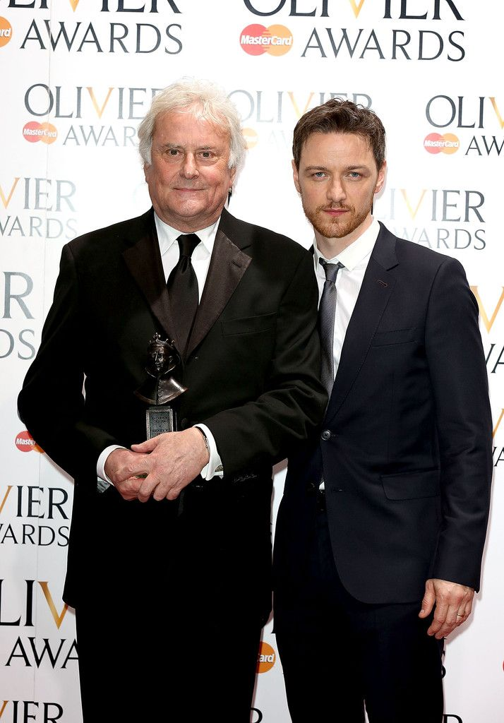 James McAvoy Photos: Laurence Olivier Awards - Press Room