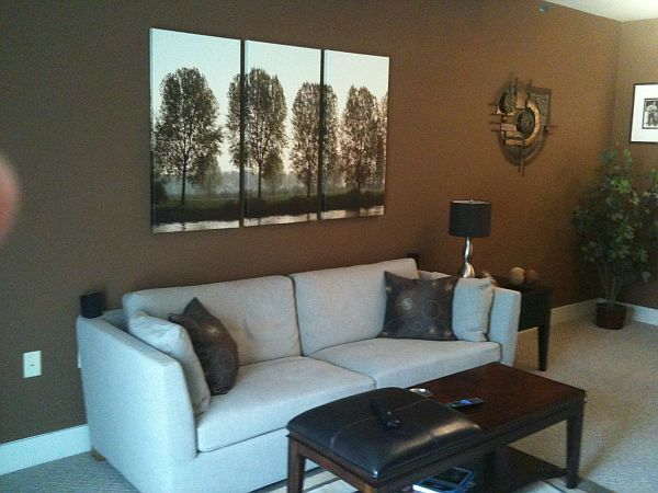 8 Ways To Lighten Up A Dark And Gloomy Space Living Room Decor Colors Brown Living Room Decor Living Room Colors