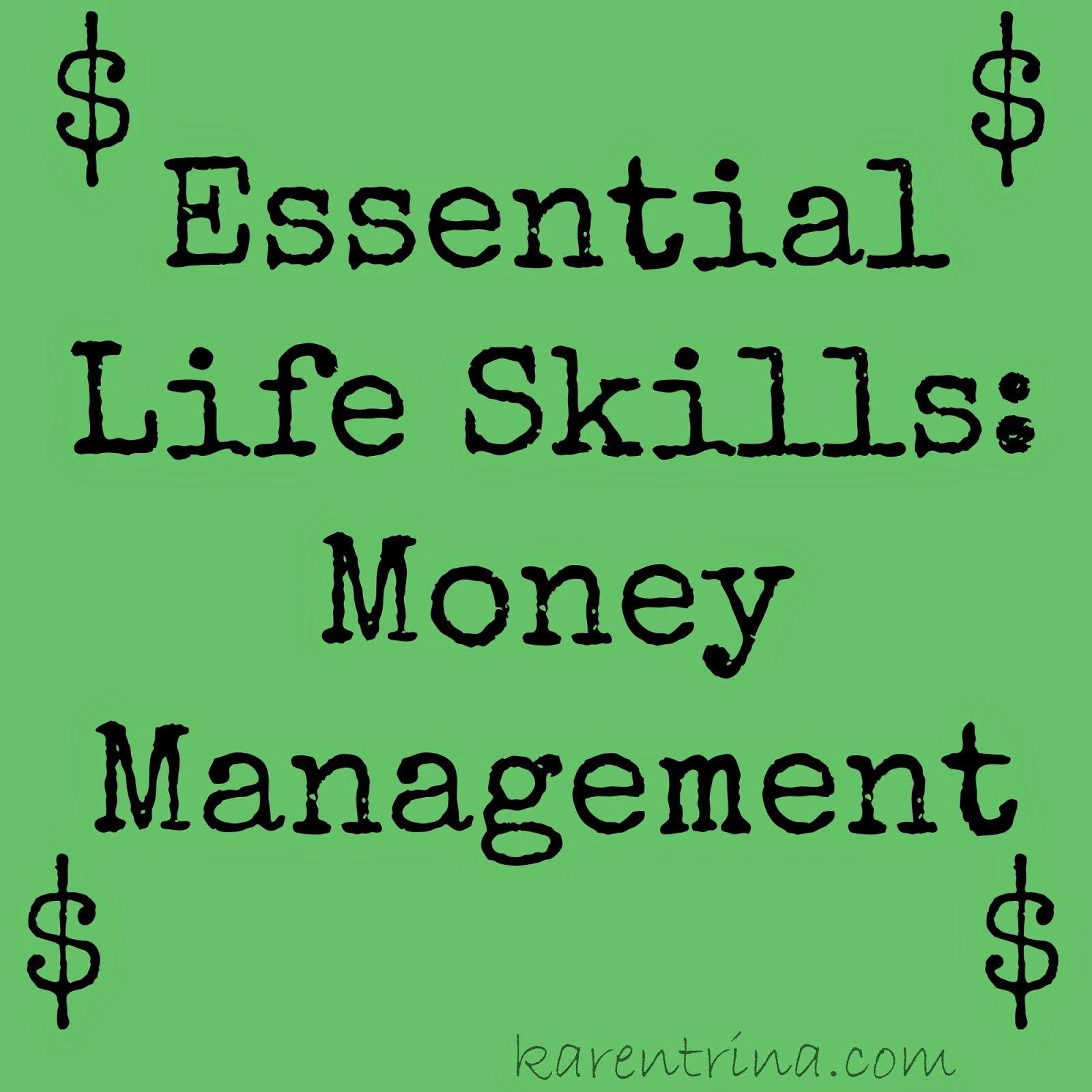 Essential Life Skills Money Management