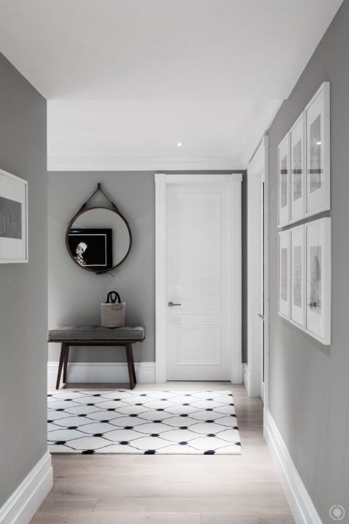 Beautiful grey walls and article white skirting for kitchen dining and living room  #currentvibes #currentlycoveting