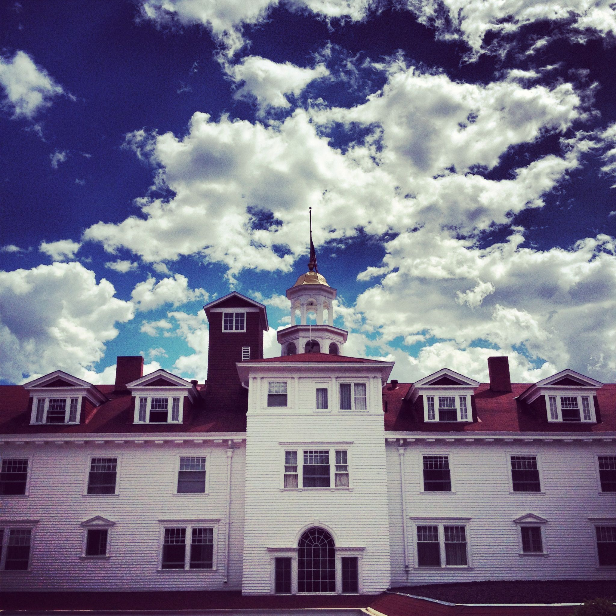 Historic Haunted Stanley Hotel. Estes Park . '