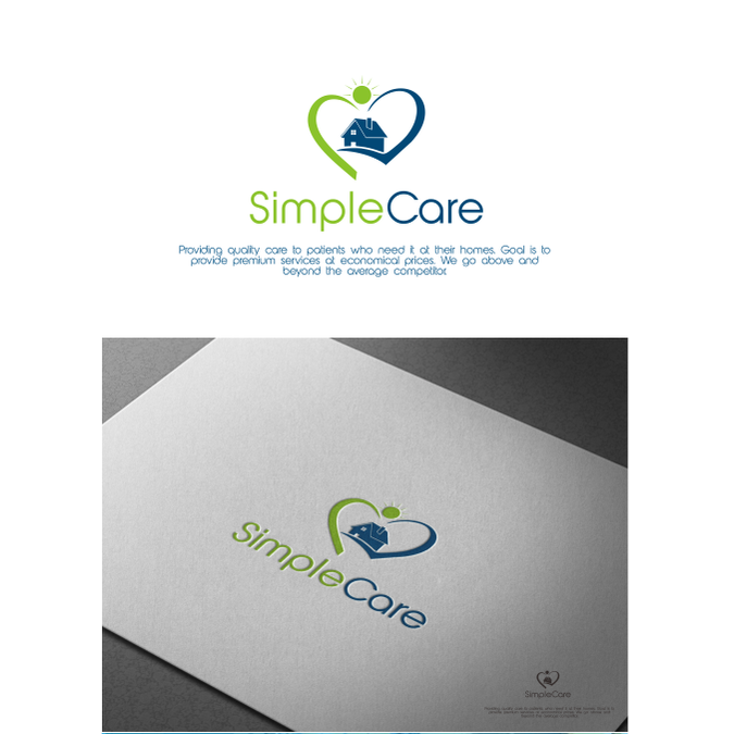 Freelance Work Project   Home Health Care Logo By Broker 07