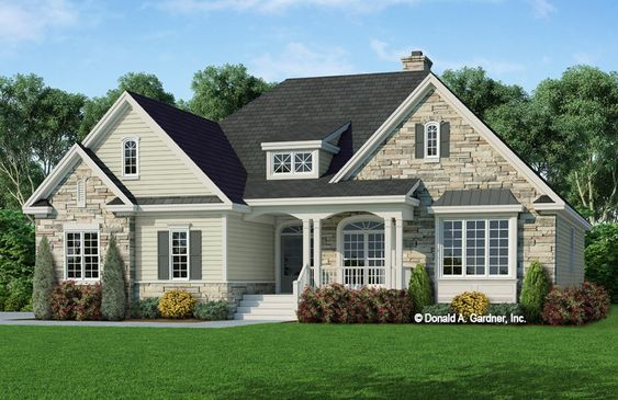 House Plan The Wilshire By Donald A Gardner Architects Craftsman Style House Plans Craftsman House Plans Country Style House Plans