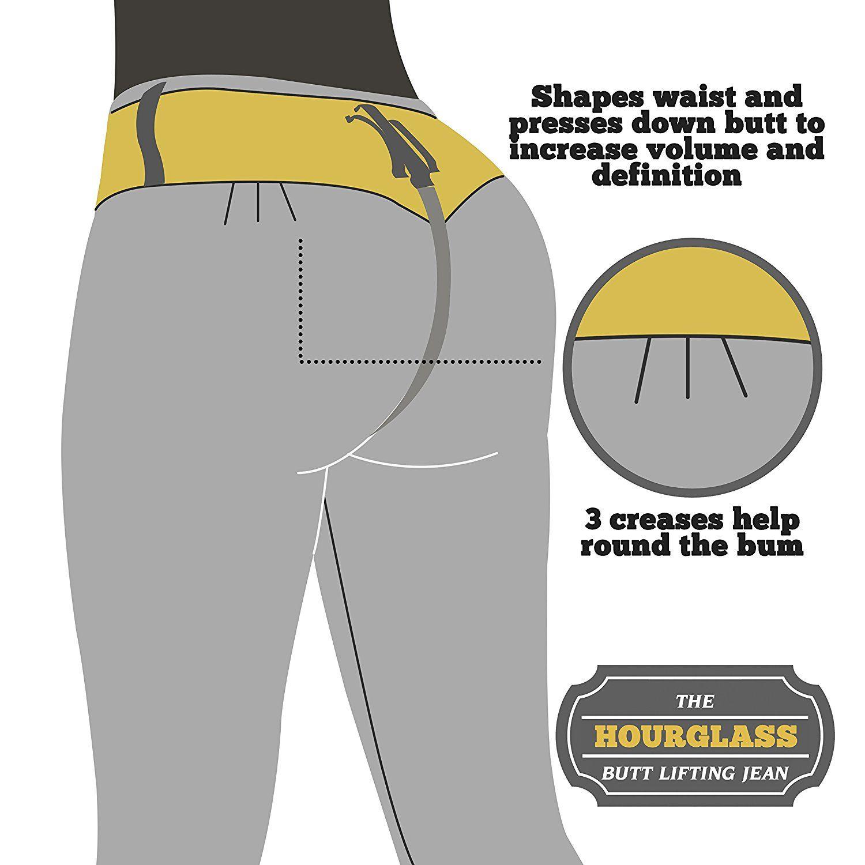 e9f949c845e Curvify 765 Premium Women s Enhanced Butt Liftting Skinny Jeans Light Blue 9