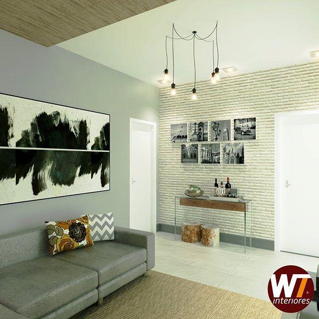 Projeto sala para apartamento @tom_b_rodrigues_ e @tiagolavoura ...