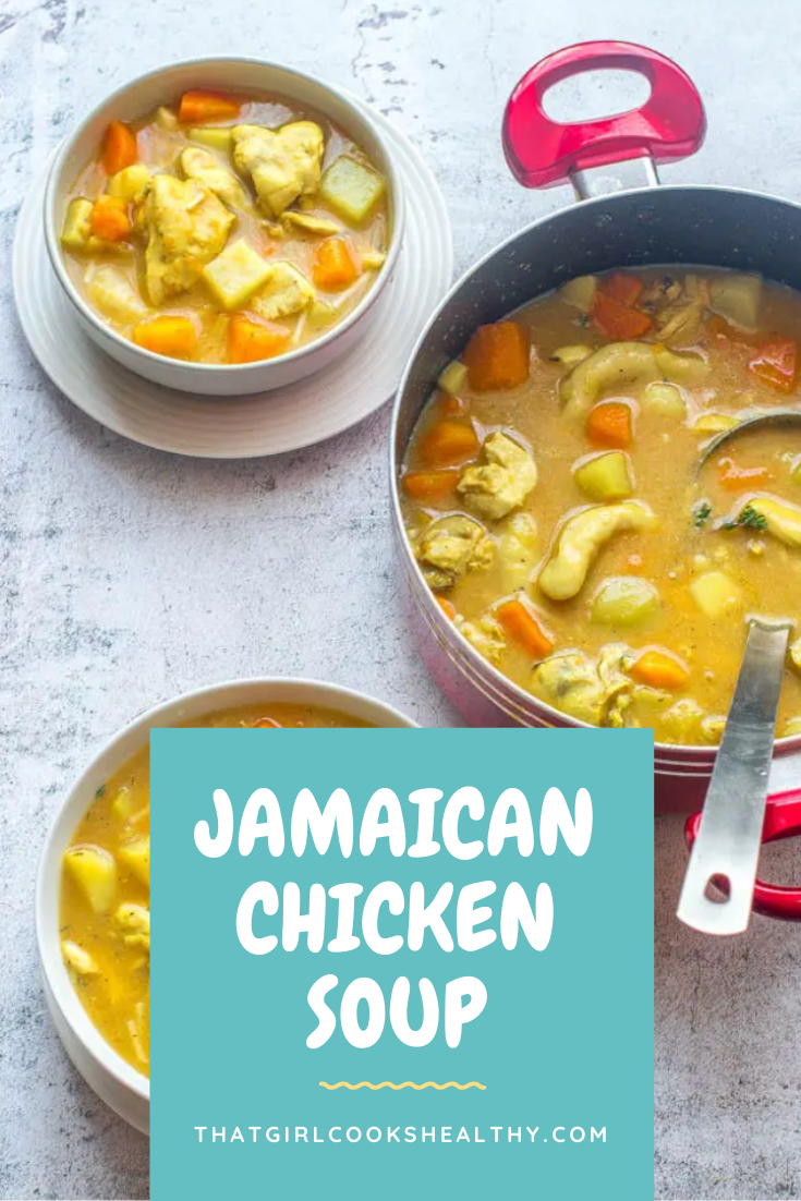 jamaican chicken soup  recipe with images  jamaican