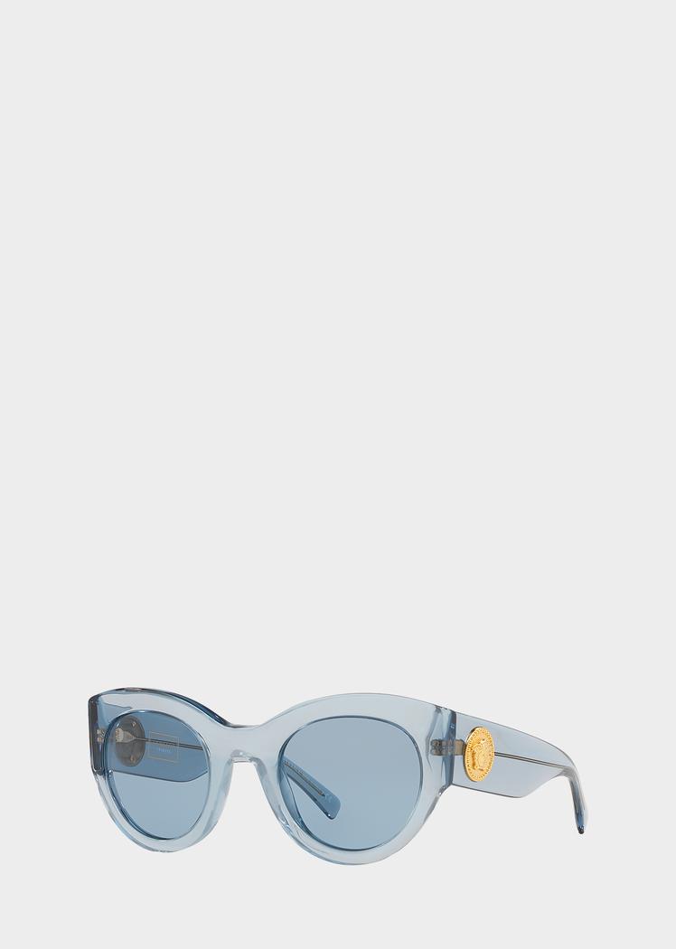 5670a3ed8c Versace Vintage Blue Tribute Sunglasses for Women