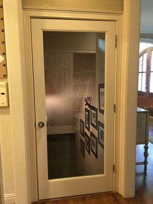 My Stairwell Makeover used hardwood a glass door and a photo gallery to transform my stairwell from eyesore to enjoyable! & 3-Step Stairwell Makeover: Hardwood Glass Door \u0026 Photo Wall ...