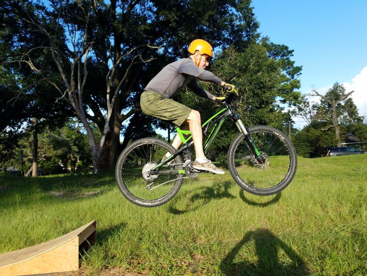 Too Old To Get Air Learning To Jump A Mountain Bike At 54 Years