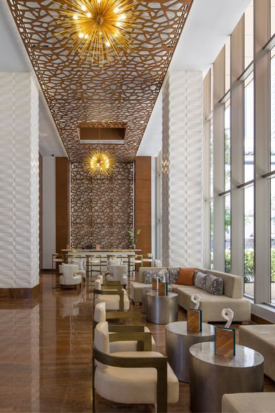 Modern Hotel Lobby Design: Waldorf Astoria Panama Features Best-in-class Service